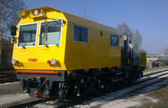 Dual purpose rail - road vehicles