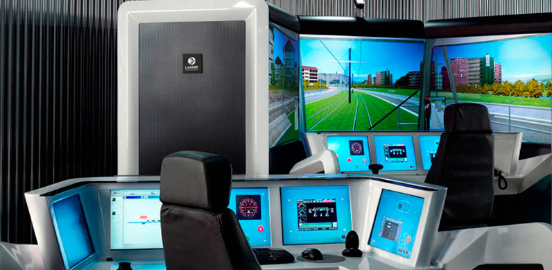 Route and train control centre